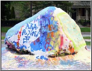 Ann Arbor Painted Rock